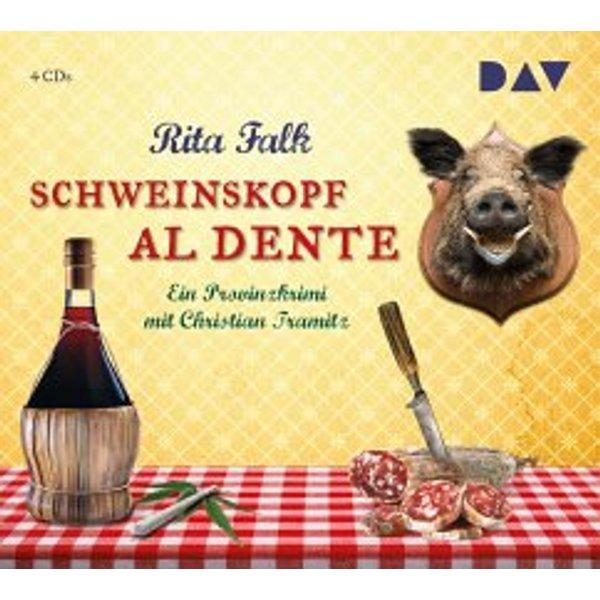 Falk, Rita: Schweinskopf al dente (Audio-CD)