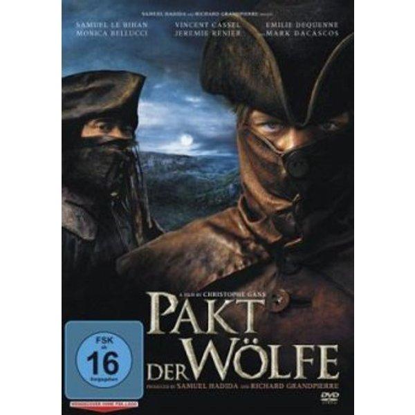 Der Pakt Der Wölfe (Dvd) - Le Bihan,samuel/cassel,vincent, DVD
