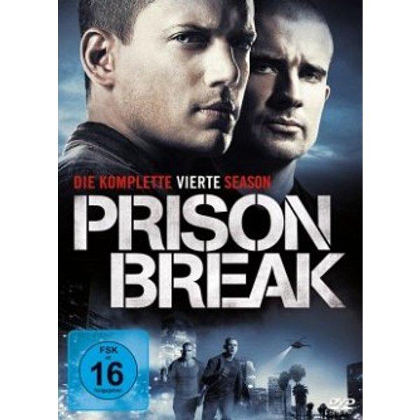 DVD Prison Break - Die komplette vierte Season FSK: 16