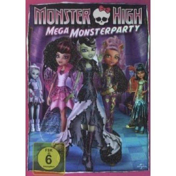 DVD Monster High - Mega Monsterparty Hörbuch
