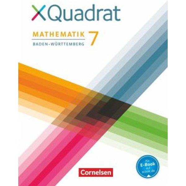 XQuadrat 7. Schuljahr - Baden-Württemberg - Schülerbuch