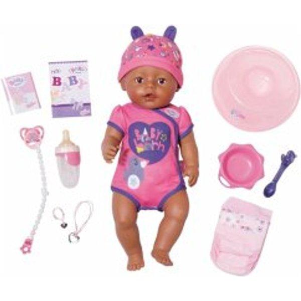 BABY born poupée bébé Soft Touch 43 cm rose/violet 8 pièces