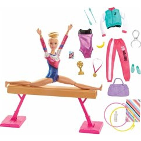 Barbie Gymnast Doll with Accessories