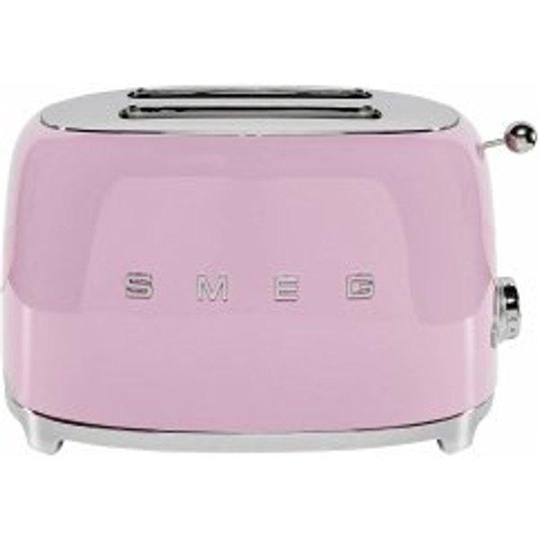 smeg TSF01PKEU Toaster rosa