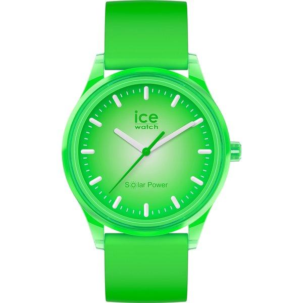 """Artikel klicken und genauer betrachten! - Mit ihrem """"grünen"""" Herzstück (ihr Uhrwerk lädt sich permanent über unsichtbare Solarzellen auf), ist die ICE solar power nicht nur elegant, sondern auch extrem angenehm zu tragen – ist sie doch so leicht, dass man sie gar nicht auf der Haut spürt! Sagen Sie stehengebliebenen Armbanduhren und leeren Batterien """"Adieu"""", denn die ICE solar power kann man dank ihrer Technologie leichten Herzens tragen.   im Online Shop kaufen"""