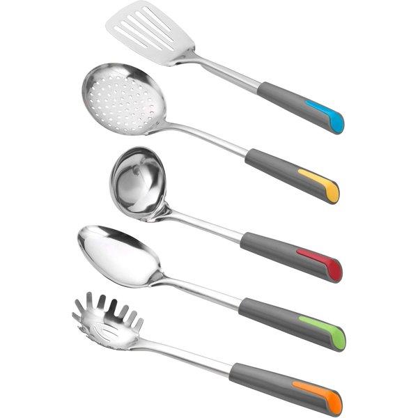 Ustensiles de cuisine Alegria, multicolores, 5 pièces