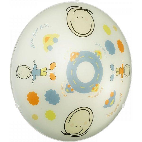 88972 Junior2 2 Light Child's Flush Ceiling Lamp
