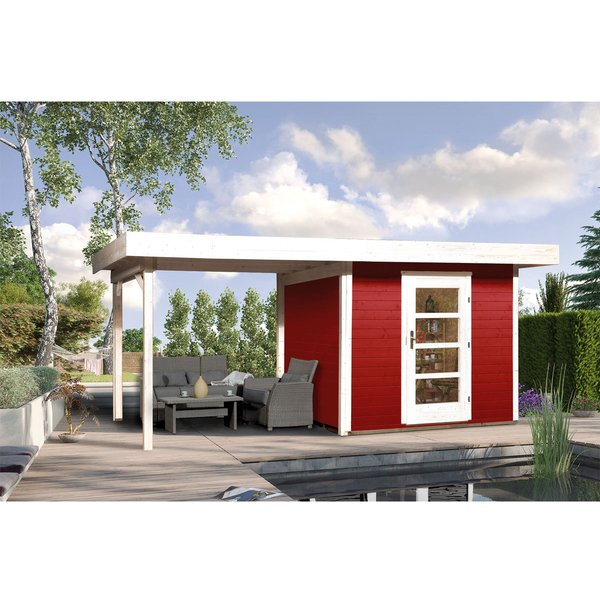 "Designhaus ""172 B"" Gr.2, schwedenrot"