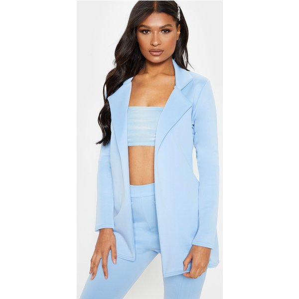 PrettyLittleThing - longline fitted blazer - 1