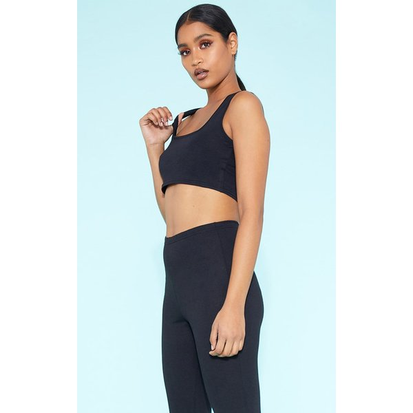PrettyLittleThing - square neck crop top - 1