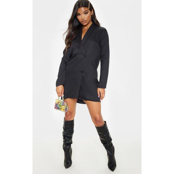 PrettyLittleThing - oversized blazer shift dress - 1