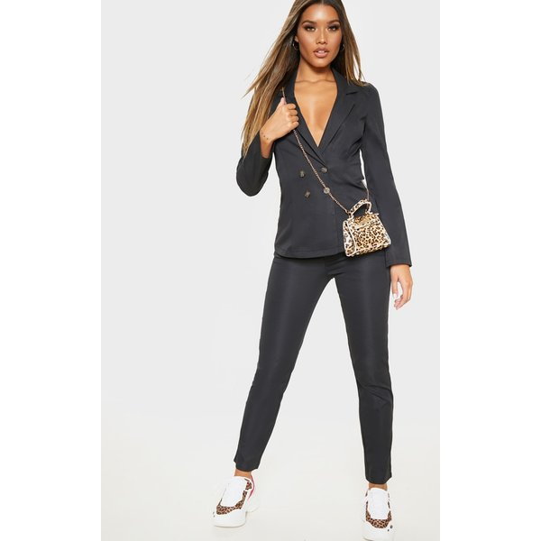 PrettyLittleThing - button detail trouser - 1