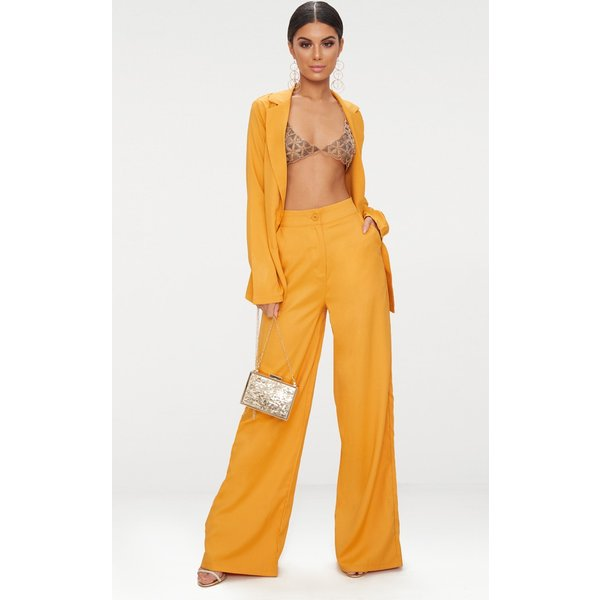 PrettyLittleThing - wide leg suit trouser - 1