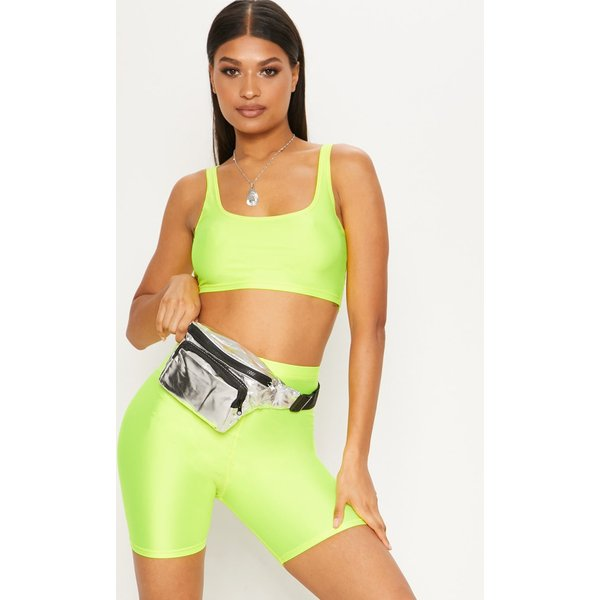 PrettyLittleThing - neon cycling shorts - 1