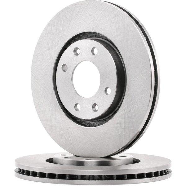 FERODO DDF1152 2x Disque de frein avant