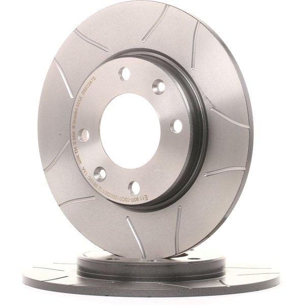 BREMBO Disc Brakes PEUGEOT 08.5334.75 4246G6,4249F5 Brake Rotors,Brake Discs,Disk Brakes,Brake Disc