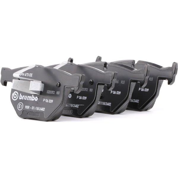 BREMBO Brake Pads BMW P 06 039 34121288895,34121288896,34212288896 Disk Pads,Brake Pad Set, disc brake 34216769105,34216775678,34216790762,34216791938