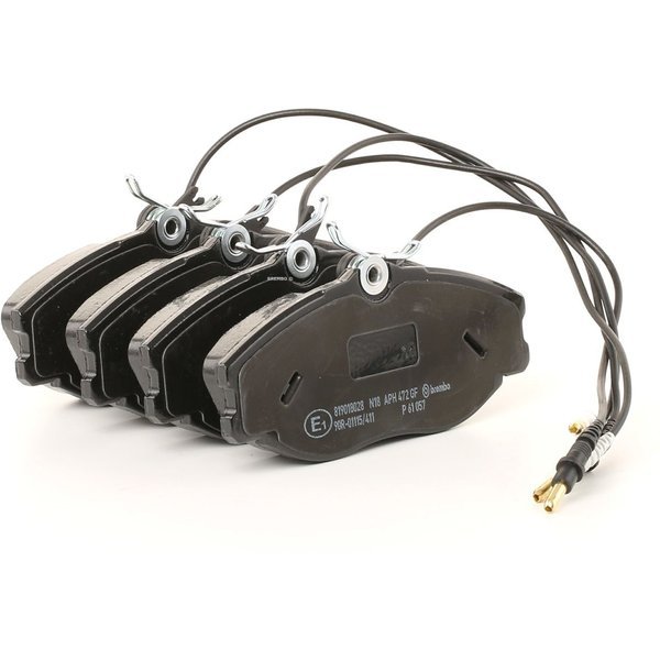 BREMBO Brake Pads PEUGEOT,CITROËN P 61 057 1617254180,425132,425143 Disk Pads,Brake Pad Set, disc brake 425144,425160,425206,E172042,E172058,E172116