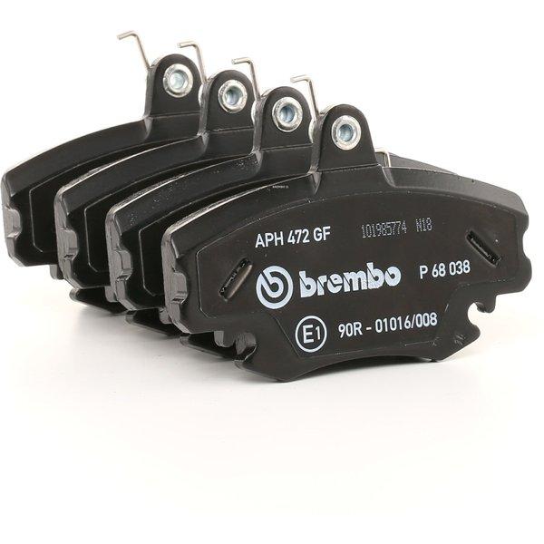 Brembo P68038 Plaquettes de Frein Avant