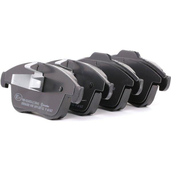 BREMBO Brake Pads RENAULT P 68 047 410600011R,410605055R,410607585R Disk Pads,Brake Pad Set, disc brake 440608746R