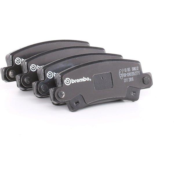 BREMBO Brake Pads TOYOTA P 83 065 0446602020,0446602070,0446602110 Disk Pads,Brake Pad Set, disc brake 0446602160,04466YZZD9