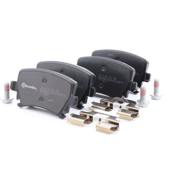 BREMBO Brake Pads VW,AUDI,SKODA P 85 073 1K0698451,1K0698451D,1K0698451F Disk Pads,Brake Pad Set, disc brake 1K0698451G,1K0698451H,1K0698451P