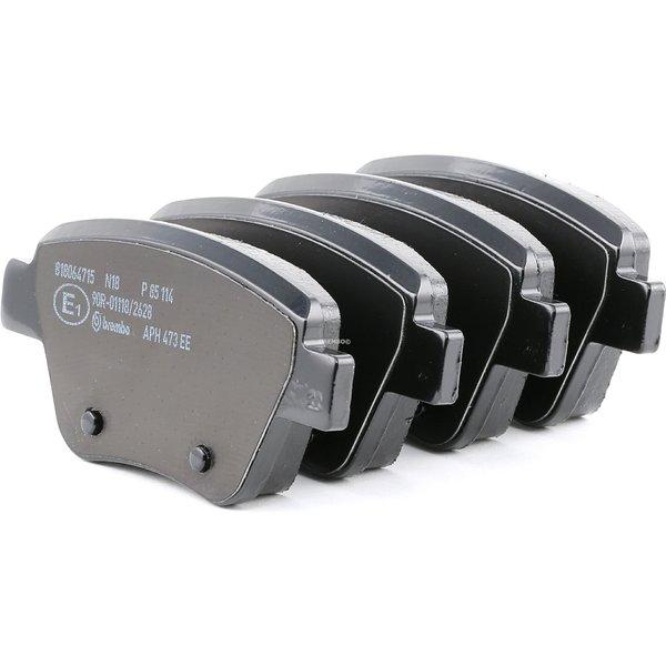 BREMBO Brake Pads VW,AUDI,SKODA P 85 114 2K5698451,5K0698451,5K0698451A Disk Pads,Brake Pad Set, disc brake 5K0698451C,JZW698451Q,2K5698451,5K0698451