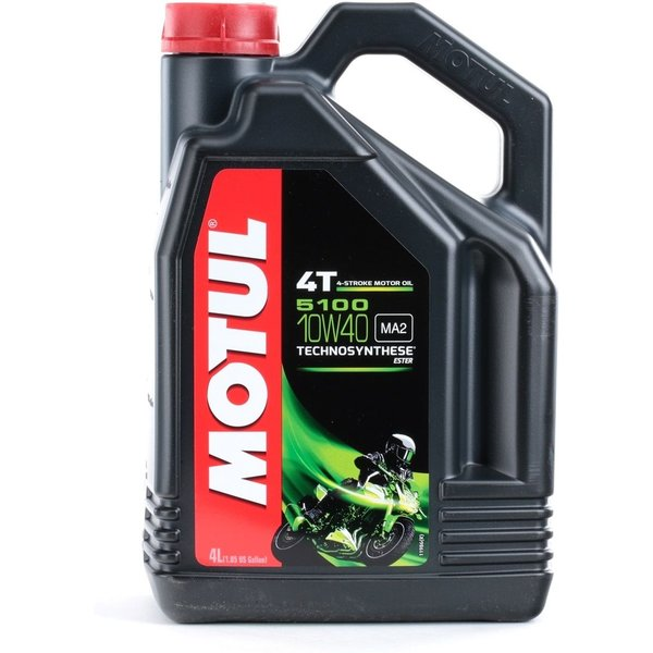 MOTUL 5100 4T 10W40 4 litres d'huile moteur
