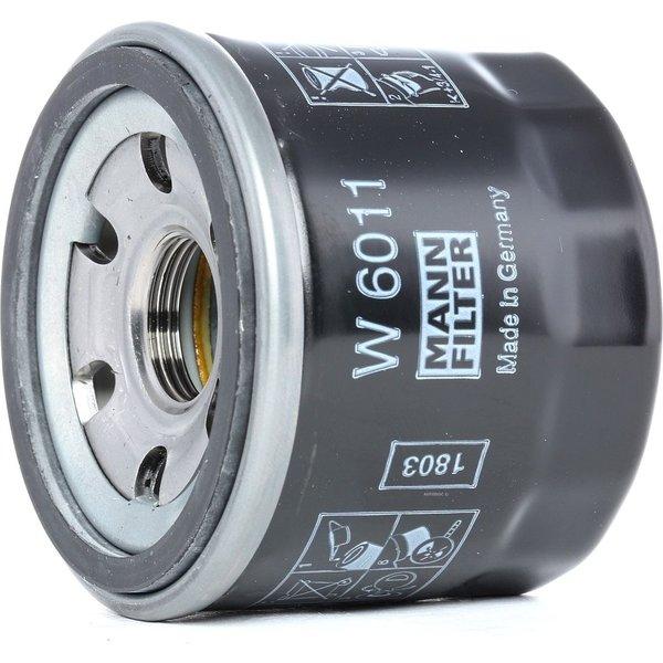 MANN-FILTER Oil Filter MITSUBISHI,SMART W 6011 1230A040,1321800010,1321800110  A1321800110