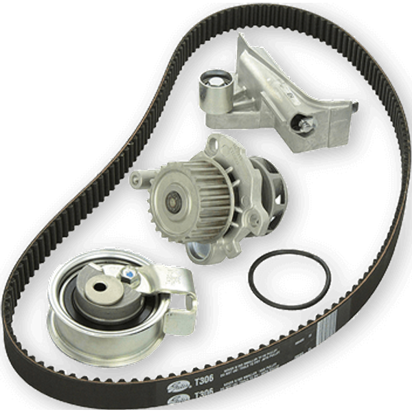 GATES Water Pump + Timing Belt Kit RENAULT,NISSAN,DACIA KP25577XS