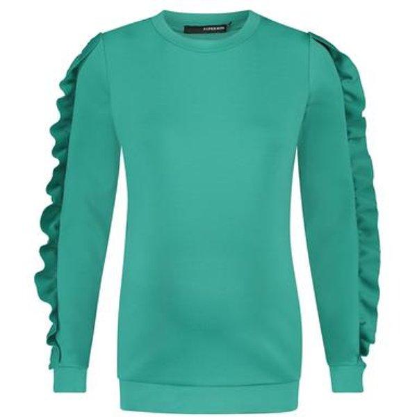 SUPERMOM Sweatshirt bright green - grün - Damen