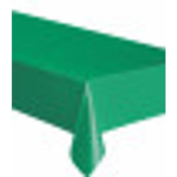 Nappe rectangulaire en plastique vert émeraude