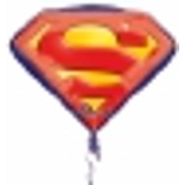 Ballon aluminium Superman™ 66 X 50 cm