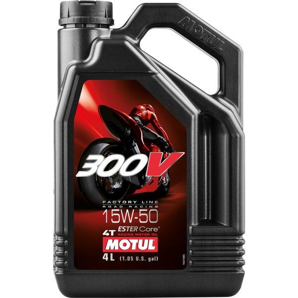 Motul 300V FL Road Racing 15W-50 4 Liter Kanister