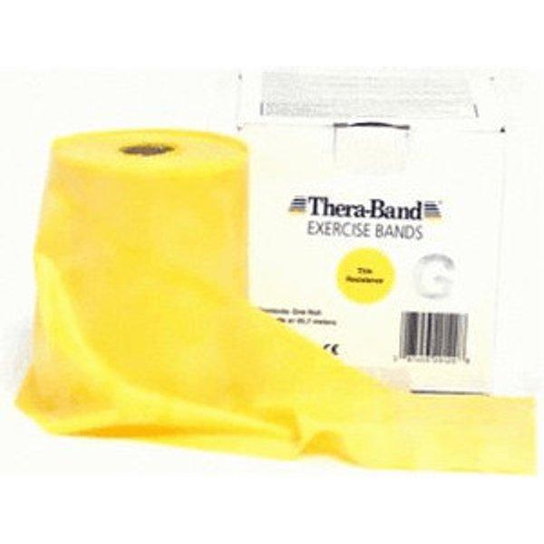 THERA BAND Übungsband 45,5 m dünn gelb 1 Stück