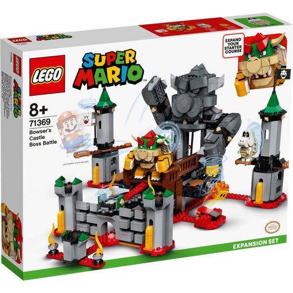 LEGO Super Mario Bowser's Castle Battle Expansion Set (71369)