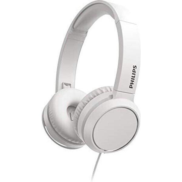 Philips TAH4105WT Hi-Fi Casque supra-auriculaire supra-aural volume réglable blanc
