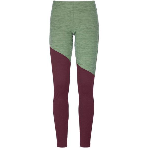 Ortovox Fleece Light Long Pants W green forest blend