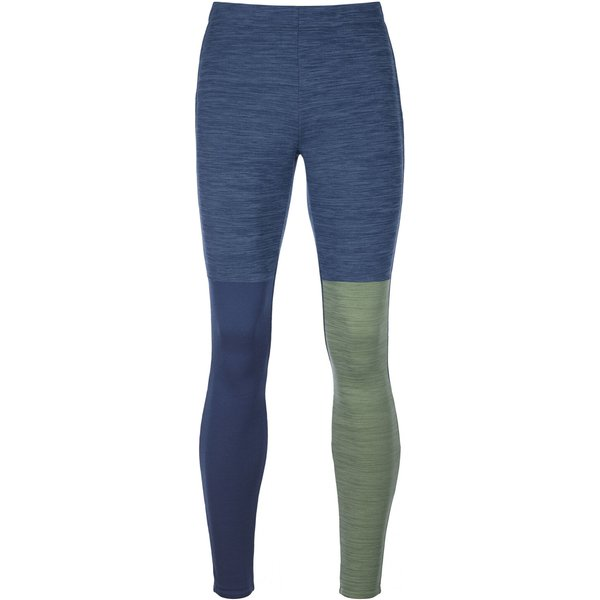 Ortovox Fleece Light Long Tech Pants blau