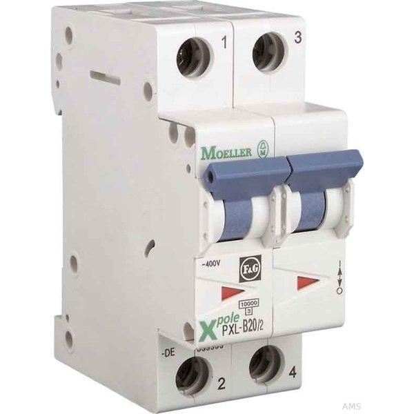 Eaton Electric GmbH LS-Schalter m.Beschrift. B 10A 2p PXL-B10 (236227)