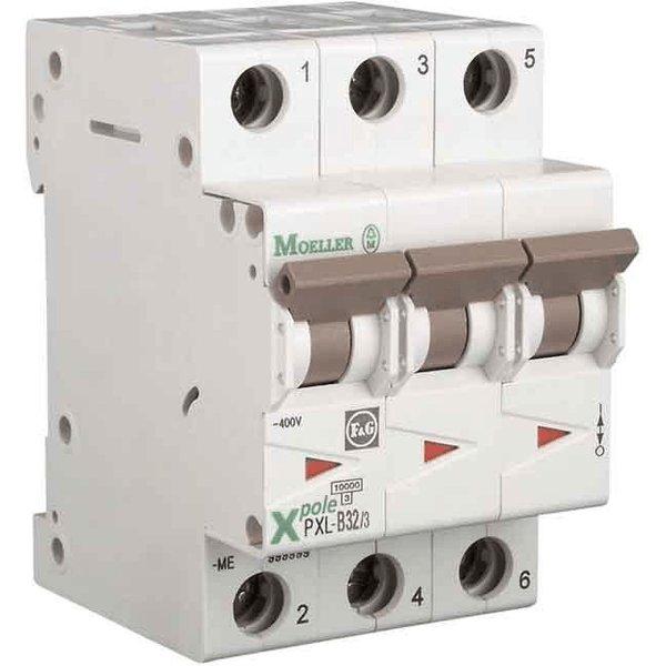 Eaton Leitungsschutzschalter 32A 3polig Schaltvermögen 10kA B-Char