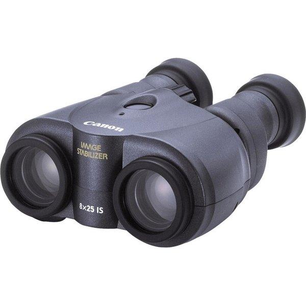 Canon - Binoculars 8 x 25 IS - Image Stabilized - Porro