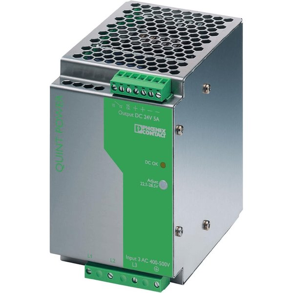 Phoenix Contact 2938727 QUINT-PS-3X400-500AC DIN Rail Power Supp 2