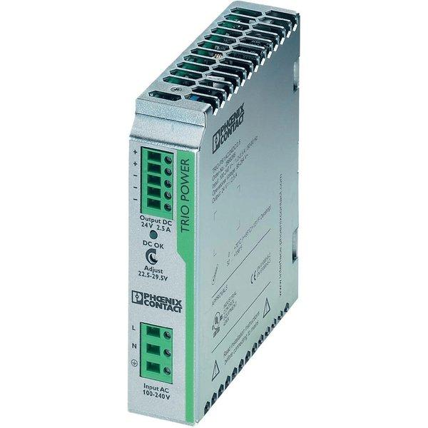 Phoenix Contact 2866268 TRIO-PS/1AC DIN Rail Power Supply 24V DC 2