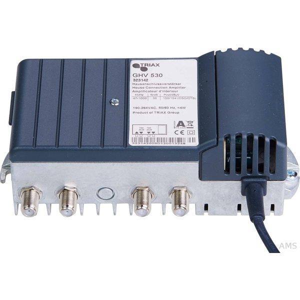 TRIAX GHV 520 BK Hausanschlussverstärker 20 dB NF für GHV 20E (323138)