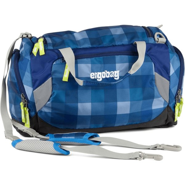 ergobag Sporttasche KaroalaBär blau