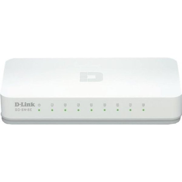 D-Link GO-SW-8E 8-Port 100MBit/s Switch