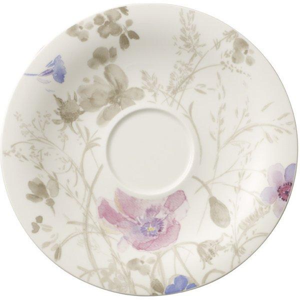 Villeroy & Boch,'Mariefleur Gris Basic' Breakfast Saucer 19 cm