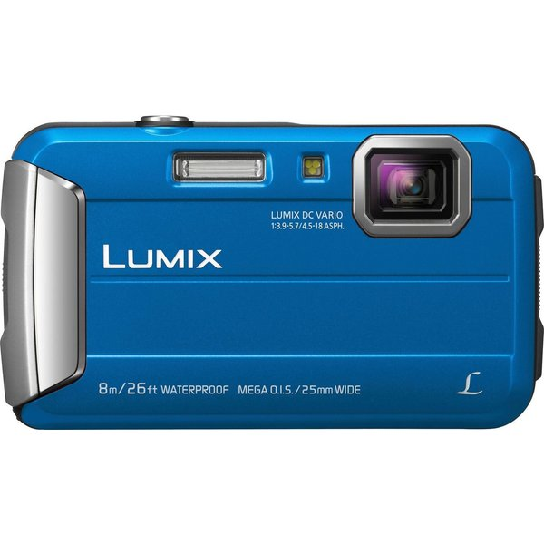 Panasonic Lumix Dmc-Ft30 - 16,1 MP - 4608 x 3456 Pixel - CCD - 4x - HD - Blau