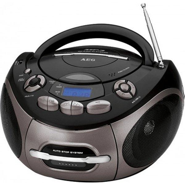 AEG SR 4366 - boombox - CD, hôte USB (400638)